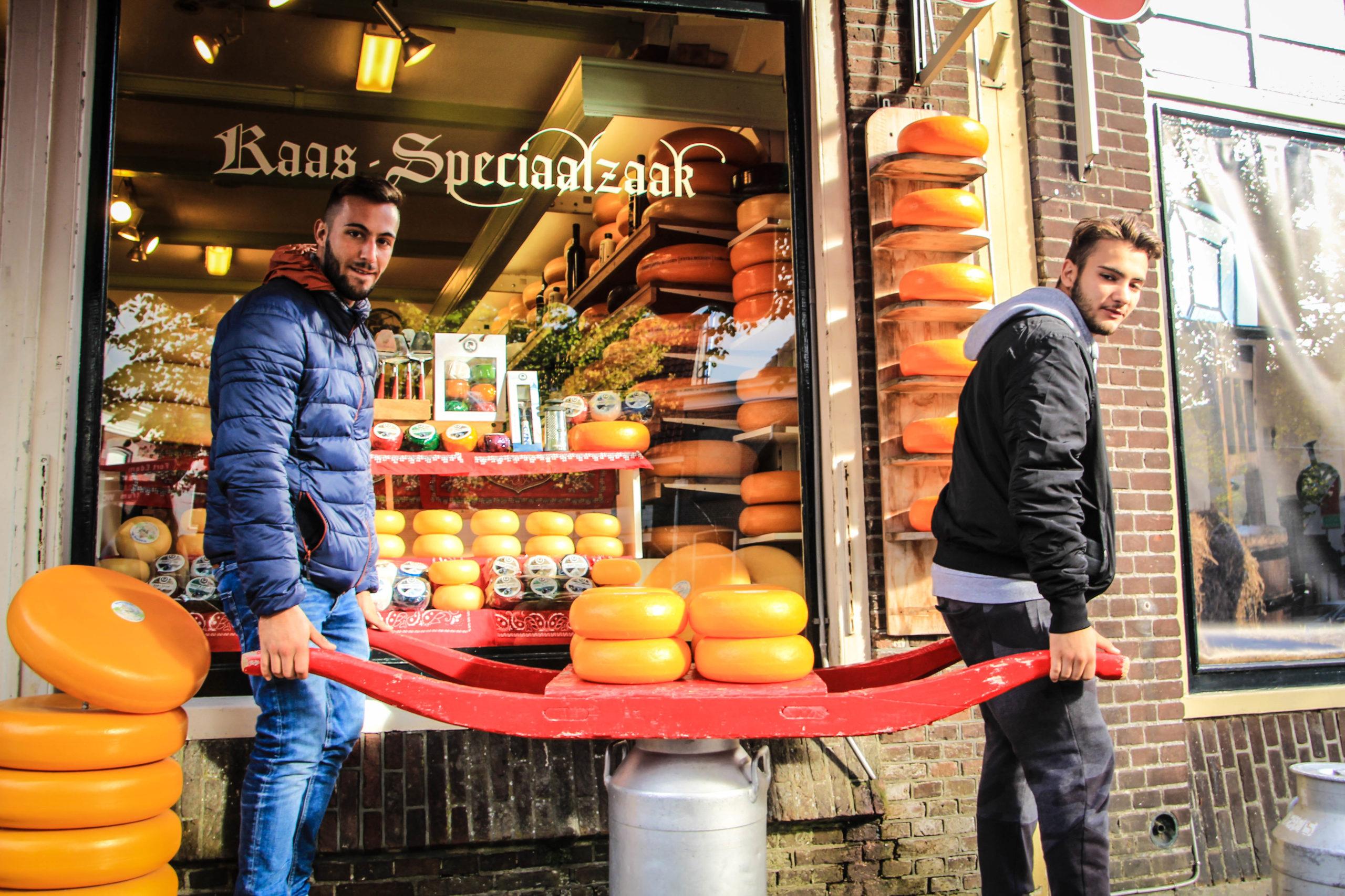 quesos holandeses Edam