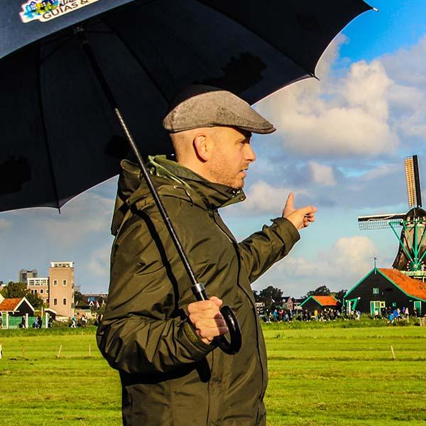 Nosotros, nuestra historia Amsterdam Guías y Tours, Xavier