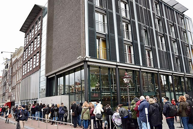 La casa de Ana Frank en Ámsterdam